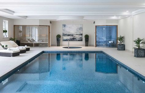 Indoor Swimming Pool With Extraordinary
