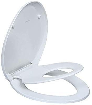 Elongated Toilet Seats With Built In Potty Training Seat Magnetic