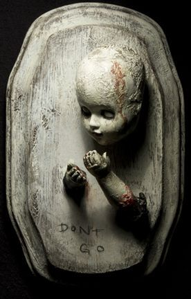 Hyaena Gallery Spinestealer Scary Dolls Halloween Doll