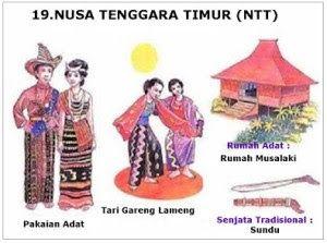 34 Provinsi Rumah Adat Pakaian Tarian Tradisional Senjata Tradisional Lagu Bahasa Suku Julukan Di Indonesia Kartun Pakaian Tari Gambar