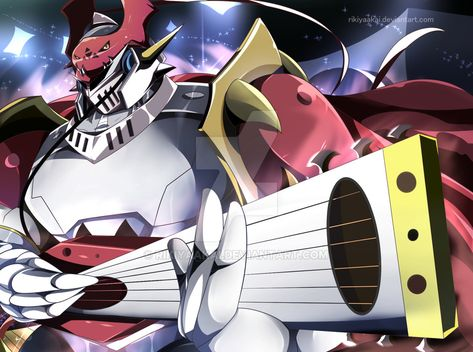 Just Play The Music By Rikiyaakai Digimon Wallpaper Digimon Anime Looking for jesmon fresh account must have the single attack and still have beginner pack. pinterest