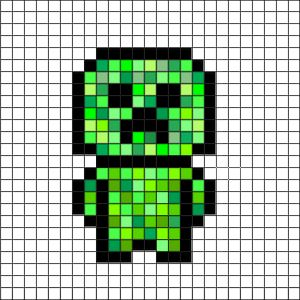 Minecraft Pixel Art Plan Pixel Art Minecraft Pixel Art