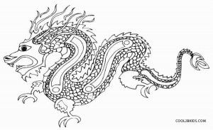 Chinese Dragon Coloring Pages | adult coloring 2 | Dragon ...