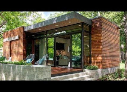 Best House Modern Nature Cabin Ideas House Tiny House Exterior