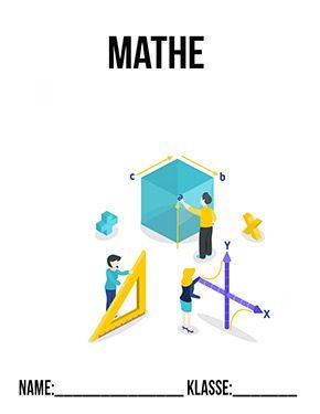 Mathe Deckblatt Pdf Mathe Deckblatter Zum Kostenlosen Ausdrucken Schulbeginn Ersterschultag Einschulung In 2020 Mathe Deckblatt Deckblatt Schule Deckblatt