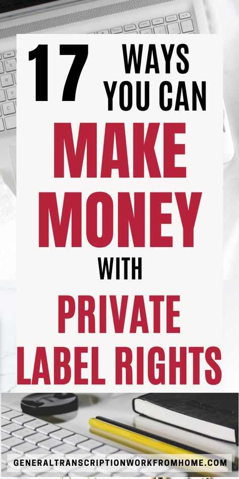 Make Money With Private Label