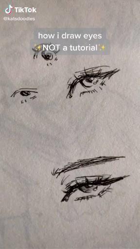How To Draw Eyes Tiktok Video Art Drawings Sketches Drawings Art Drawings Sketches Creative