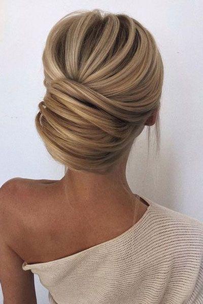 Coiffures de mariГ©e pour cheveux doux