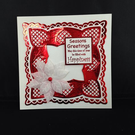 Christmas Card 2013. Used Marianne Die cuts.