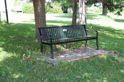 Ann Vangemeren Bench Burritt S Rapids Ontario Bench Outdoor Decor Outdoor Furniture