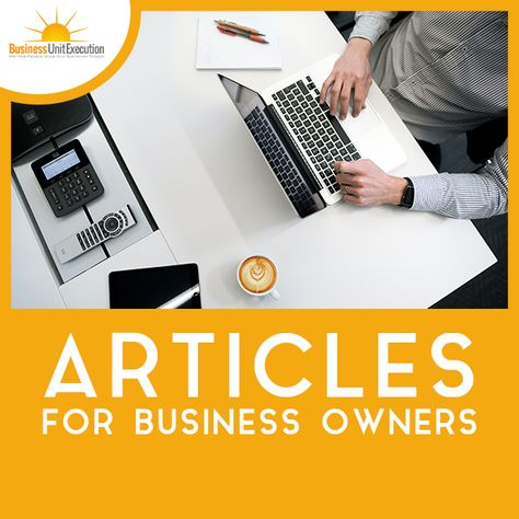 Articles for Business Owners