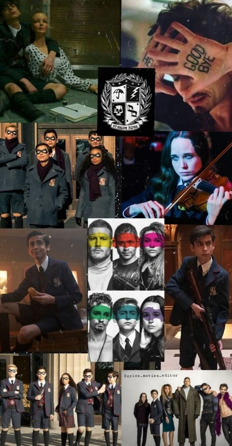 Wallpaper THE UMBRELLA ACADEMY