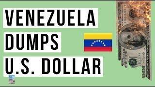 Venezuela Drops U S Dollar For Euro Chinas Tech Stocks In