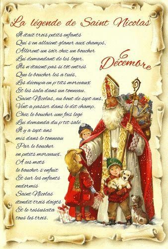 La Legende De Saint Nicolas Legende De Saint Nicolas Saint