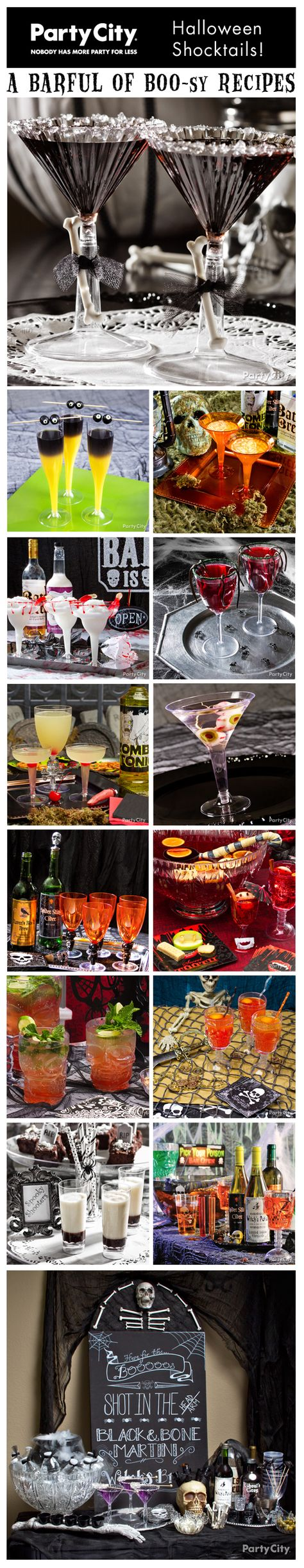 Pour on the freaky fun with Halloween cocktail ideas! Click for shriek-worthy recipes and to-die-for bar ideas. Muah-haha!