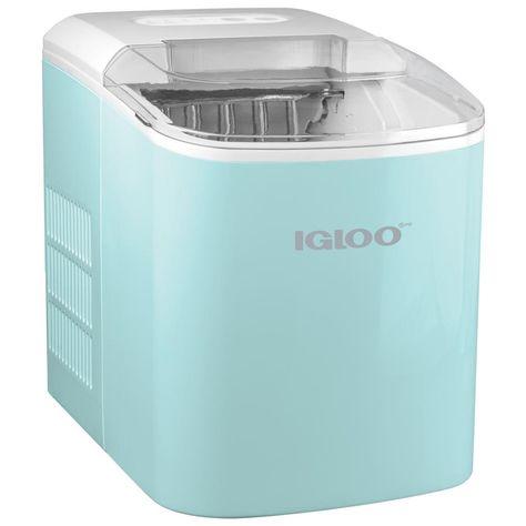 26 lb. Portable Ice Maker - Aqua
