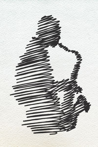 Just a small scribble can make up what sounds so wonderful -- jazz. -- Jazz by Zuhal Arslan