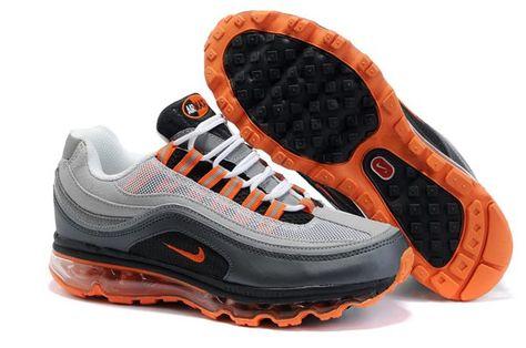 397252 011 Nike Air Max 24 7 Neutral Grey Orange Blaze