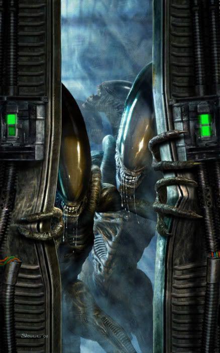 Aliens and Predators