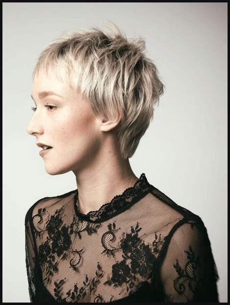 Freche Kurzhaarfrisuren Frauen 2018 Einfache Frisuren Short Hair
