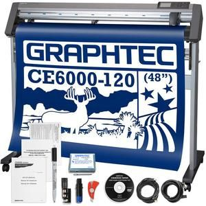 Graphtec Ce6000 120 Plus 48 Inch Professional Vinyl Cutter Plotter With 2100 In Software Swing Design Vinyl Cutter Vinyl Swing Design