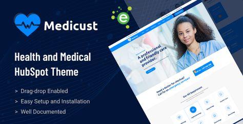 Medicust — Health and Medical HubSpot Theme   Stylelib