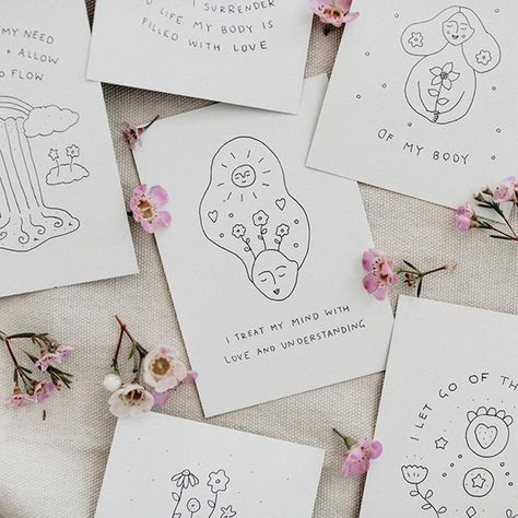 Musings from the Moon // Affirmation Cards