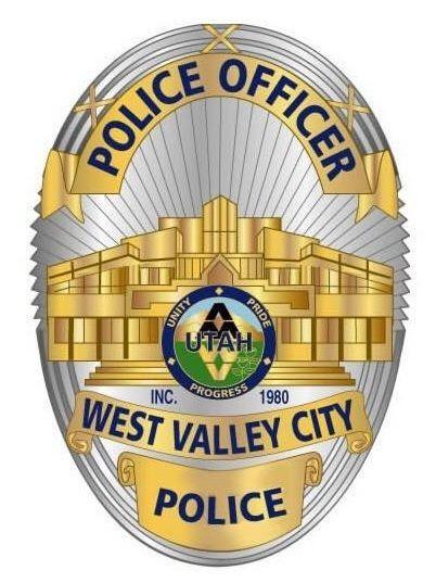 Us State Of Utah West Valley City Police Department Badge Police Badge Police Police Officer Badge