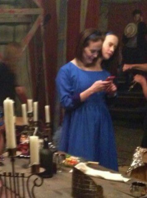 sarah paulson freak show behind the scenes