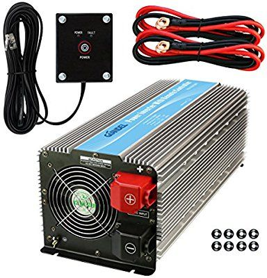 Amazon Com Giandel 5000w Heavy Duty Power Inverter With Remote Control 12v Dc To 120v Ac With 4xac Outlets And 1x2 4a Usb Port For Power Inverters Rv Truck Rv