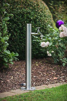 Wassersaule 650mm Srg Edelstahl Wasserzapfstelle Gartenzapfstelle Top Qualitat Ebay Wasserhahn Garten Garten Wasserzapfstelle