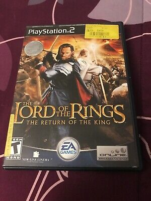 Lord of the Rings: The Return of the King (Sony PlayStation 2, 2003)no Booklet 14633146844   eBay