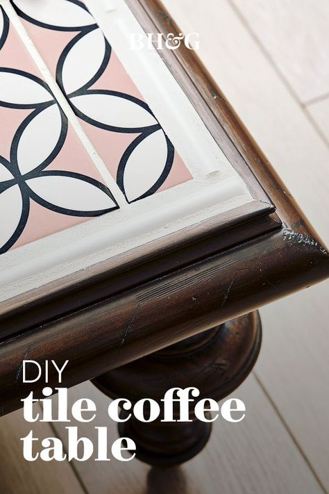 Learn how to repurpose the remnants from your kitchen or bath redo with these creative leftover tile projects. #tileprojects #leftovertile #leftovertileideas #diyhomedecor #bhg