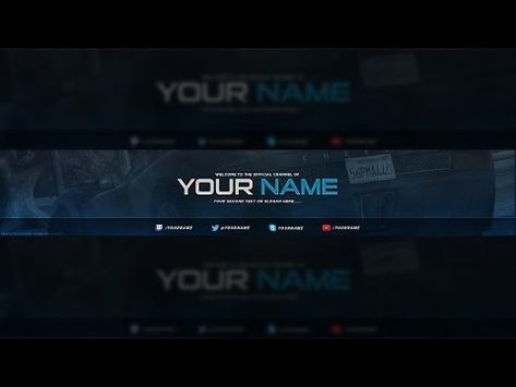 Pin By Rod Timothe On Mis Pines Guardados In 2020 Youtube Banner Template Youtube Banners Youtube Banner Design