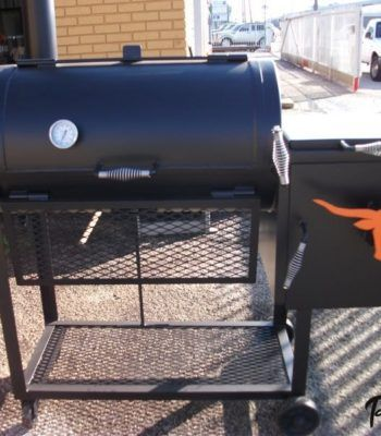 Jj 24x48 Smoker Ur Bbq Pit Stainless Steel Side Table High Heat Paint