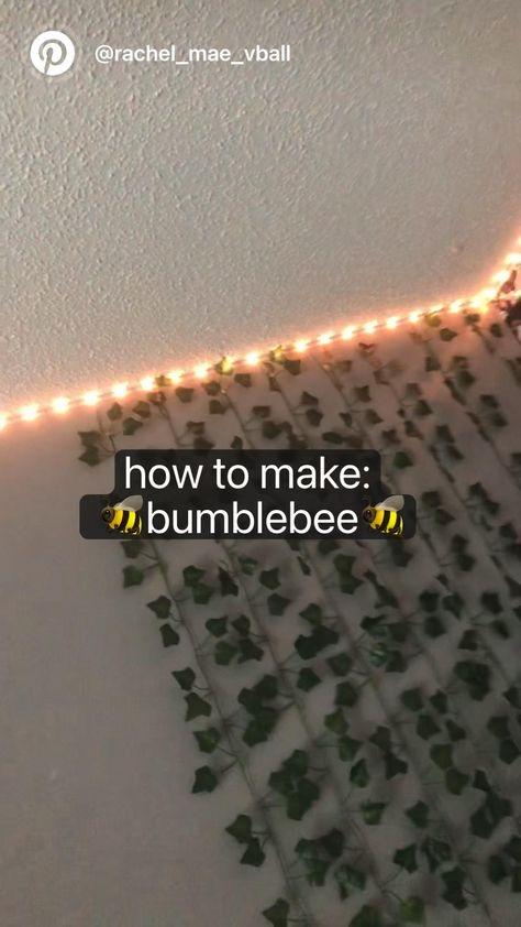 How to make: 🐝bumblebee🐝