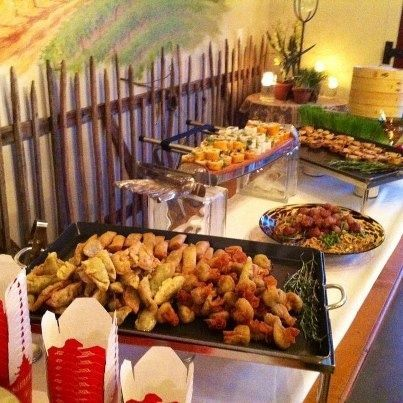 Asian Dim Sum Station From Sagra Catering Asian Catering Dim