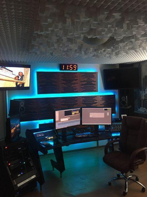 5 Ways To Store Accessories In 2020 Home Studio Setup Music Studio Room Recording Studio Home