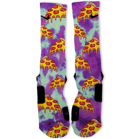 d0c3f914e6d Custom Tie Dye Blues Nike Elites Socks