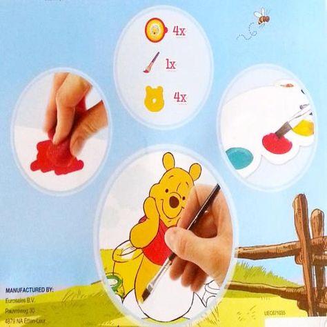 Winnie The Pooh Boyama Seti Cocuk Bebek Durbuldum Com