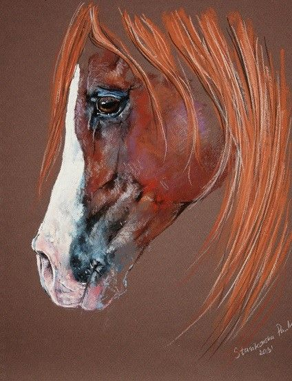Chestnut #Equine Art (Dunway Enterprises) http://dunway.com/horse_articles/index.html