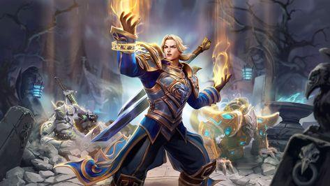 Blizzard Entertainment a annoncé l'arrivée dans Heroes of the Storm de Anduin Wrynn, roi de Hurlevent, et tout dernier héros en date à rejoindre le Nexus pour combattre au côté de son père afin de faire régner l'ordre et l'équilibre au sein des royaumes. Armé de sa fidèle masse Brise-peur, ... #JeuxVidéo, #Mac, #PC #Blizzard, #BlizzardEntertainment, #HeroesOfTheStorm, #Mac, #PC