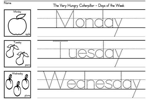 FREE Very Hungry Caterpillar-Themed Days Of The Week Printable - Homeschool  Giveaways The Very Hungry Caterpillar Activities, Very Hungry Caterpillar  Printables, Very Hungry Caterpillar