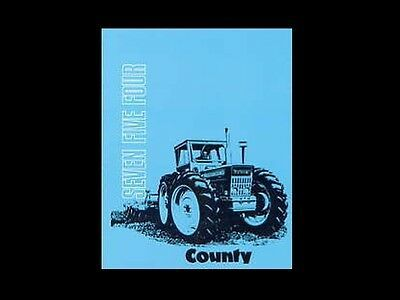 Advertisement Ebay County Super 4 654 754 Operation Service Manual 100pg Tractor Repair Maintenance In 2020 Repair And Maintenance Super 4 Parts And Accessories