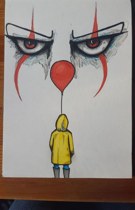 #it #art #horror #horrorart -