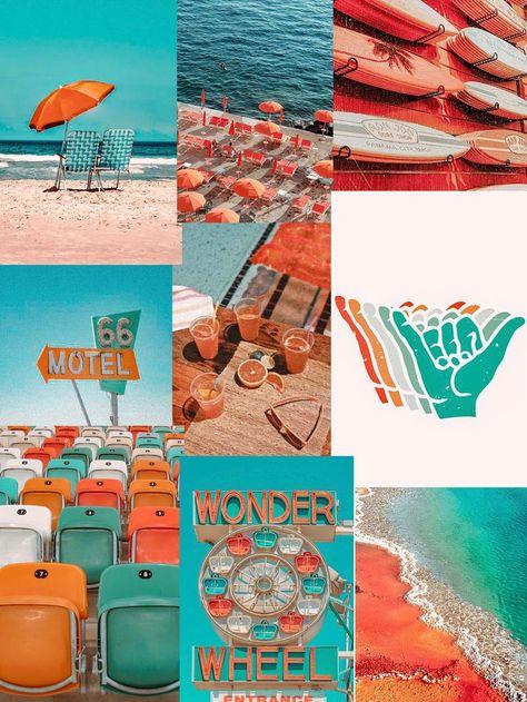POPPY PARADISE // Wall Collage Kit