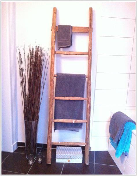 Diy Holzleiter Ari Schenck Handtuchhalter Badezimmer Dekor Diy Badezimmer Aufbewahrung