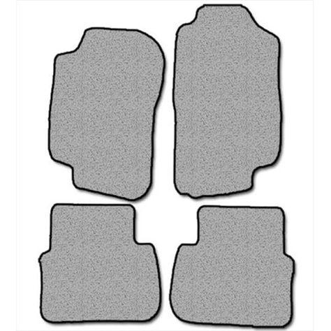 Nylon Carpet Black Coverking Custom Fit Front Floor Mats for Select LTD Models