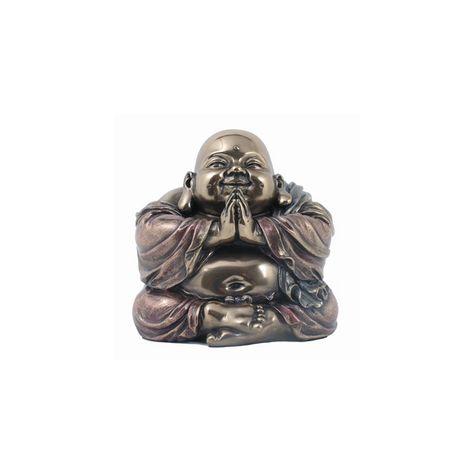 zwartepiet Chinese Boeddha beeldje 11 cm...