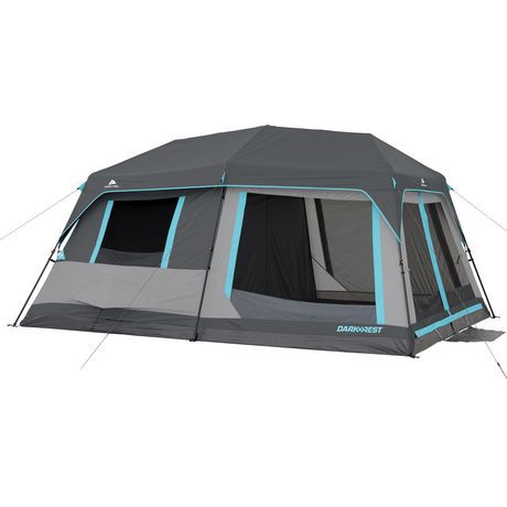 Ozark Trail 10 Person Half Dark Rest Instant Cabin Tent Walmart Canada Cabin Tent Cabin Camping Tent